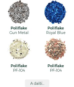 Koral Tišnov - plniva Poliflake - vzorník