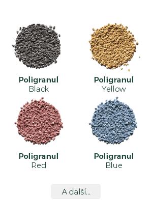 Koral Tišnov - plniva Poligranul - vzorník